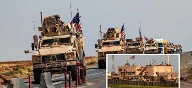 شام: الحسکہ کے امریکی فوجی اڈے میں داعشی دھشت گردوں کی منتقلی